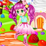 Cupcake Girl Dress Up